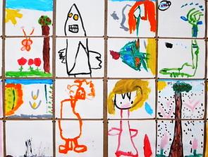 Do que são habitadas as paredes de uma escola da infância?