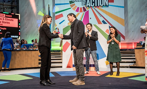humans climate change stories UN SDG awa