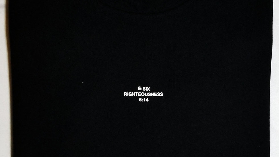 Essential Crew Neck-Black (Sold Out)