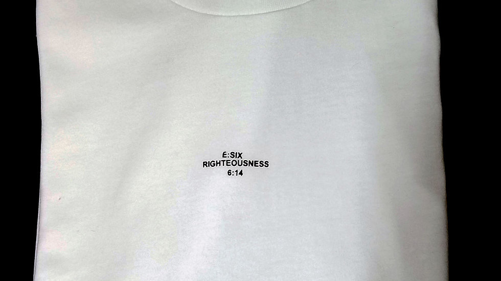 Essential Crew Neck- White (Sold Out)