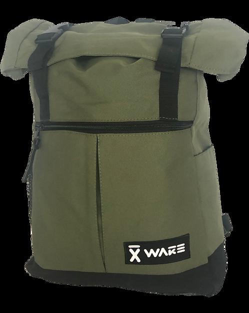 X WAKE BACKPACK ARMY GREEN