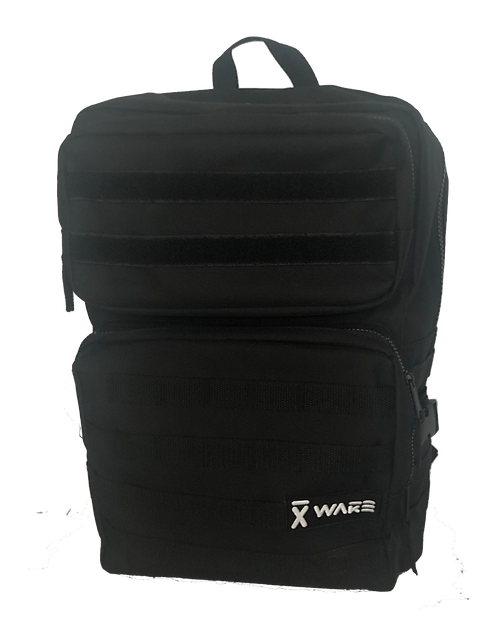 X WAKE BACKPACK TACTIC BLACK