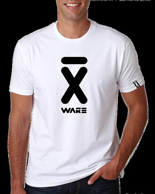 X WAKE  LOGO T SHIRT WHITE 2021