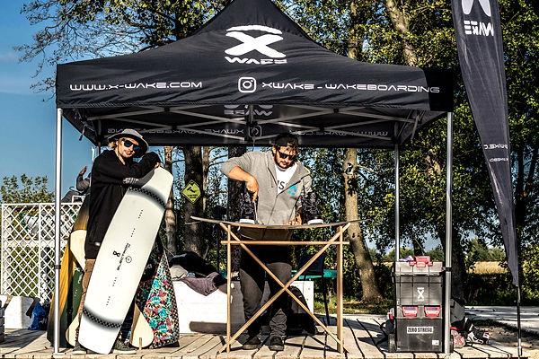 x wake wakeboards stand