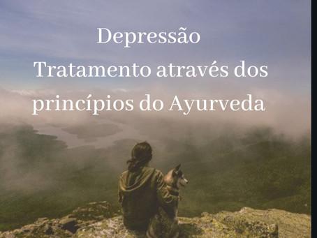 Depressão, tratamento por meio dos princípios do  Ayurveda