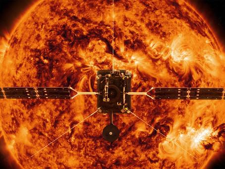 Solar Orbiter's first anniversary