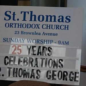 25th Anniversary of Priesthood