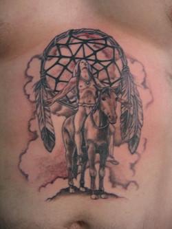Dreamcatcher tattoo, Karina Mayorga