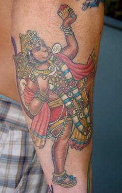 Hanuman Tattoo, Karina Mayorga