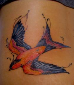 Watercolor tattoo, Karina Mayorga