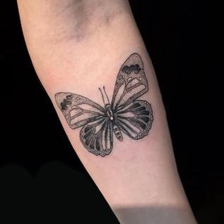 Gal butterfly tattoo