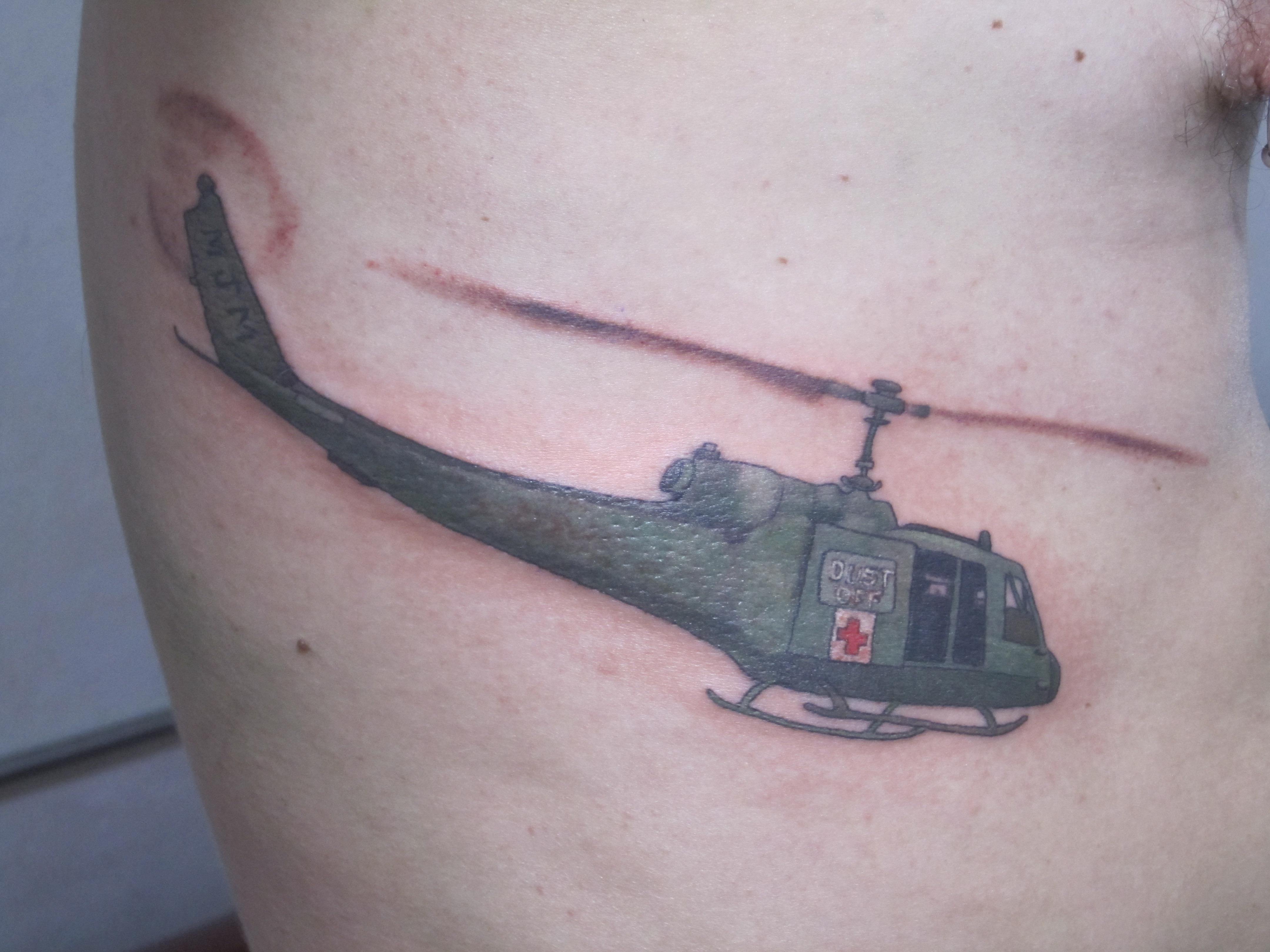 Vietnam Helicopter, Karina Mayorga