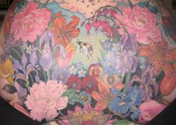 Floral Backpiece, Karina Mayorga