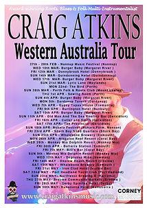 Craig Atkins Western Australia Tour Post