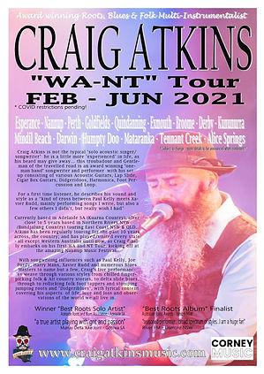 Craig Atkins WA _NT Tour FEB-JUN 2021 Pr