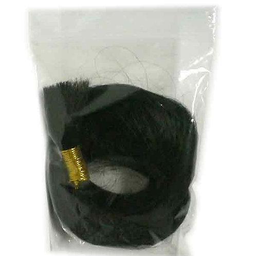 Yaki Hair Bundle - Training Hair - 18 Inches, eighteen in, straight, black, human hair