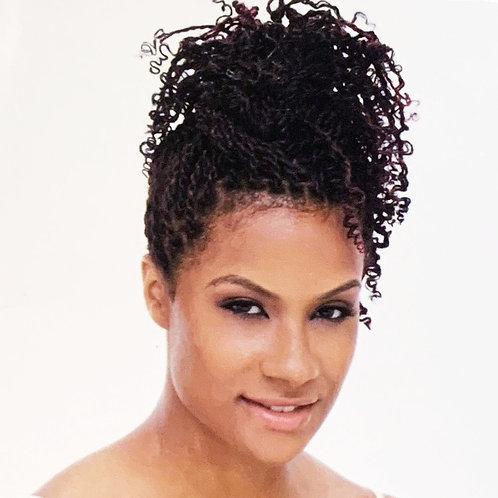 Freetress; Equal; Jamaican Twist Braid; Braiding Hair; Hair Extensions; Crochet; synthetic; brown; amidbeauty; style 02