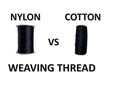 Nylon Vs Cotton Weaving Thread:  Know the Difference