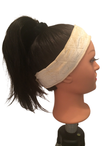 wig grip, headband, gripper, wigs, holder, wig attachment, hair extensions, wig stability, amid beauty, amidbeauty.com, sweat band, gym, protective style, sweat