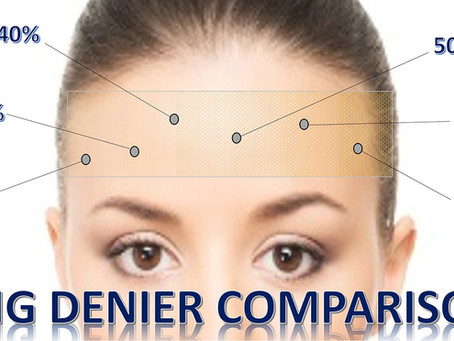 Wig Lace Denier Comparison Chart