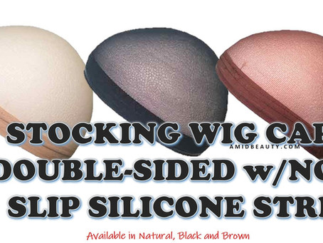 New Silicone-Lined Stocking Wig Cap Now Available