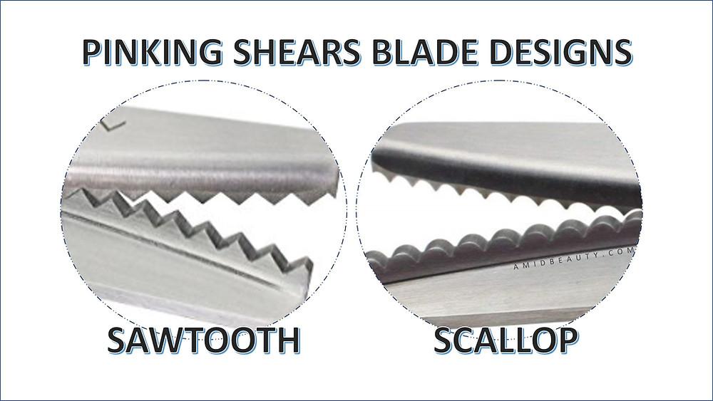 Pinking Shears Blade Designs