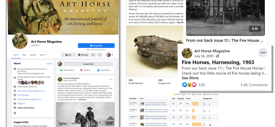 Facebook page: Art Horse Magazine