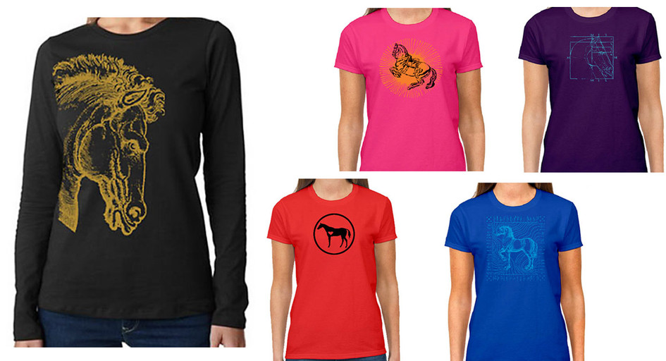 Equestrian themed wearables