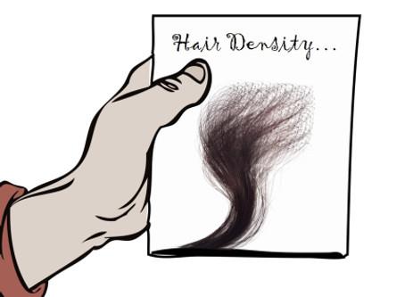 Hair Density, Wigs and Hair Bundles