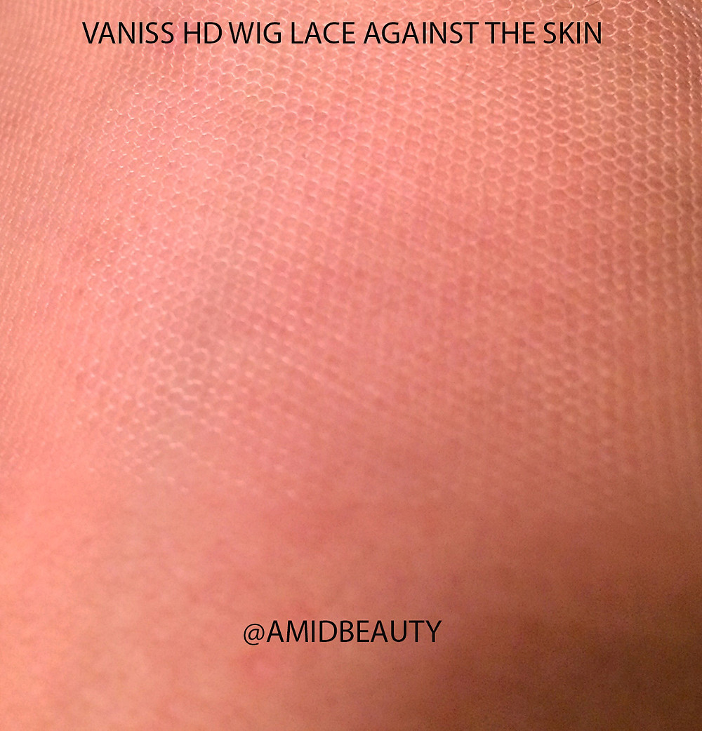 Vaniss HD Lace Placed Against The Client's Skin