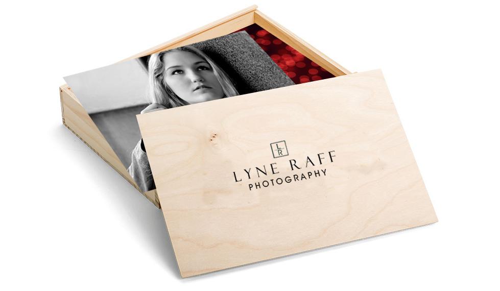 4x6 wood print box