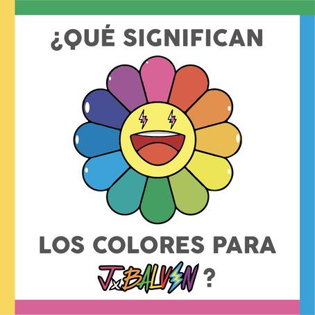 Significado de los colores para J Balvin