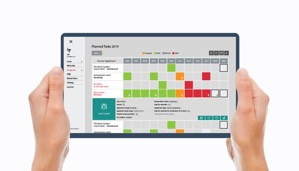 WPM: Planned Tasks Schedule