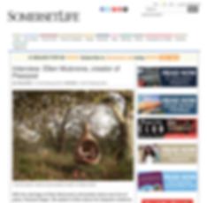 Somerset life interview article with Ellen Mulcrone Pearpod