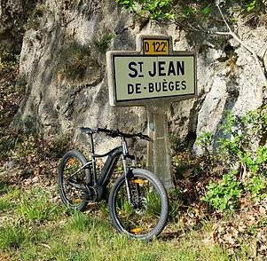 Location de vélos électriques et Vtt électriques à Saint Jean de Buèges, près de Ganges, Hérault. Votre loueur de Vtt et vélos électriques à Ganges, Saint Jean de Buèges (34) - Hérault - Cévennes.