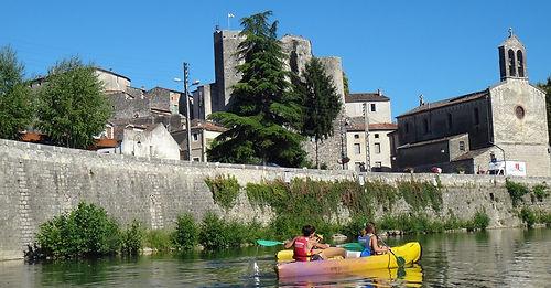 Location canoë Laroque Hérault