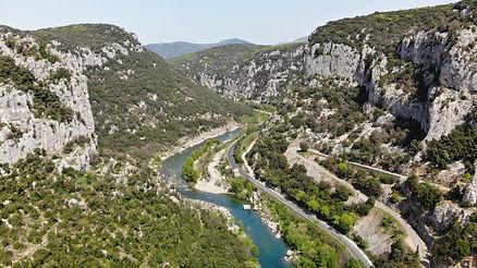 drone Hérault Saint Bauzille de putois