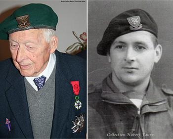 Décès de Hubert Faure, l'avant-dernier survivant du commando Kieffer
