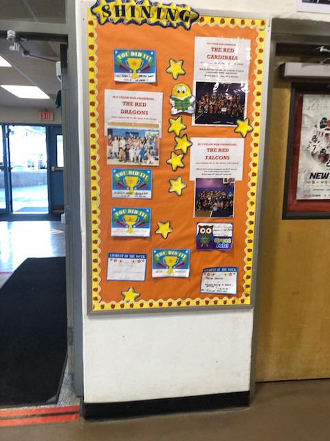 Our Recognition Board