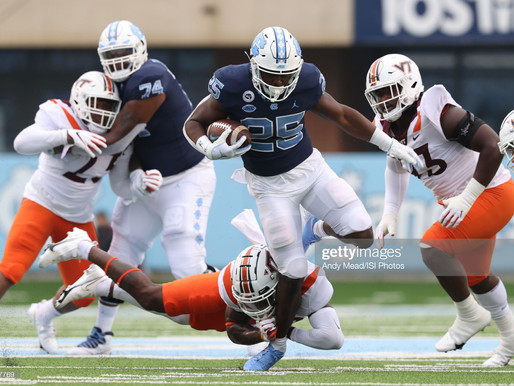 Heel Tough Blog: All-ACC Teams Revealed; Javonte Williams Spurned First Team Honors
