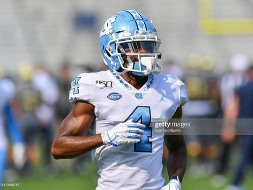 Heel Tough Blog: Tar Heels Lose Receiver to the Transfer Portal