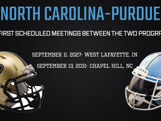 Heel Tough Blog: Tar Heels Reportedly Set Home-and-Home With Purdue