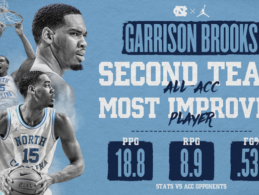 Heel Tough Blog: Garrison Brooks and Cole Anthony Earn All-ACC Honors