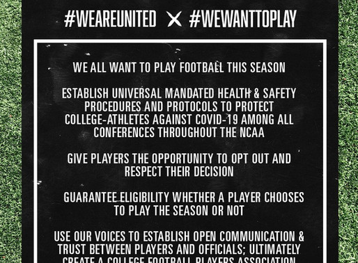 Heel Tough Blog: #WeWanttoPlay Should Be a Resounding Message to AD's