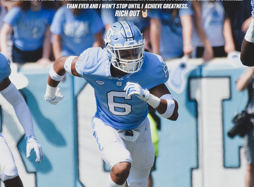 Heel Tough Blog: Tar Heels Lose Versatile Defensive Back Bryson Richardson to Transfer Portal