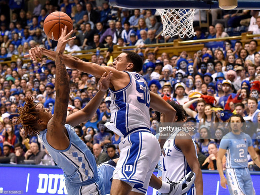 Heel Tough Blog: Anthony's Analysis- Heels Battle Hard, But Close Reg. Season w/ Loss at Duke