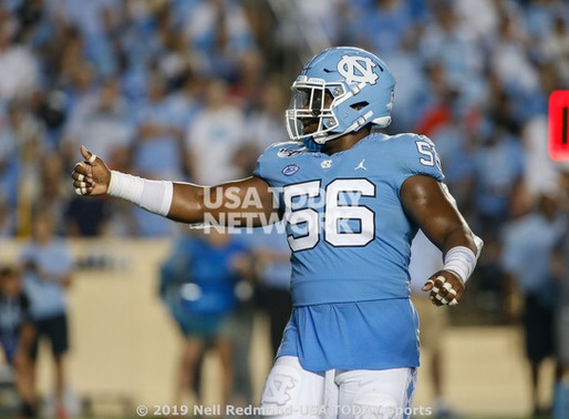 Heel Tough Blog: 2020 Tar Heel Position Previews- Defensive Line and Pass Rushers