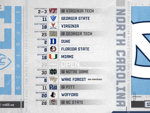 Heel Tough Blog: 2021 Football Schedule Breakdown