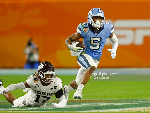 Heel Tough Blog: Dazz Newsome Declares for the NFL Draft