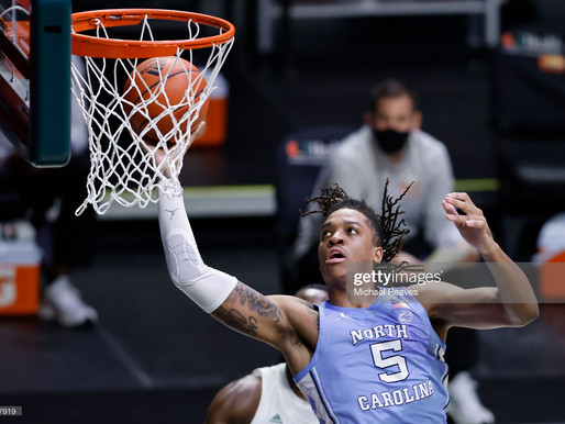 Heel Tough Blog: Armando Bacot Enters NBA Draft, But Won't Sign an Agent